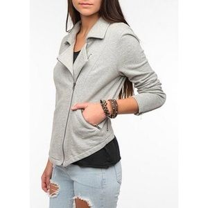 Urban Outfitters Freeway Moto Knit Jacket Medium
